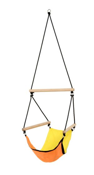 Hanging Chair Kids Swinger Yellow