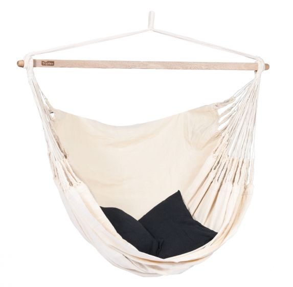 Hanging Chair 2 Persons Luxe White