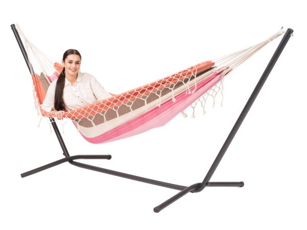 Hammock with 1 Person Stand Easy & Grenada Lychee