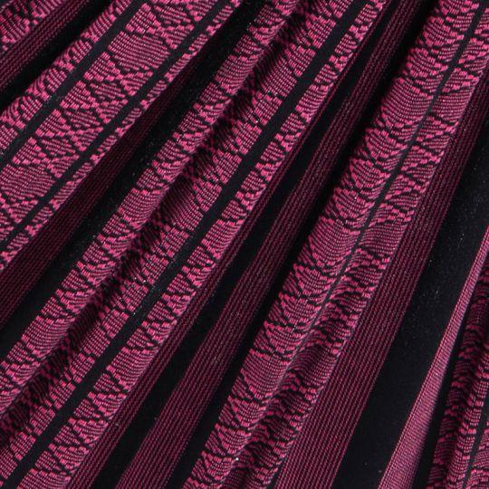 Travel blanket Black Edition Rose