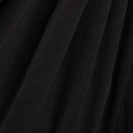 Travel blanket DeLuxe Black