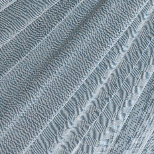 Travel blanket Natural Blue