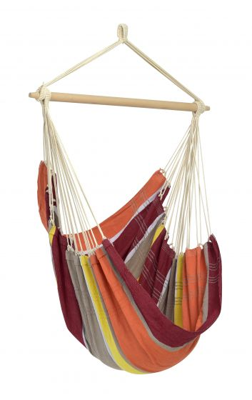 Hanging Chair 1 Person Brasil Acerola