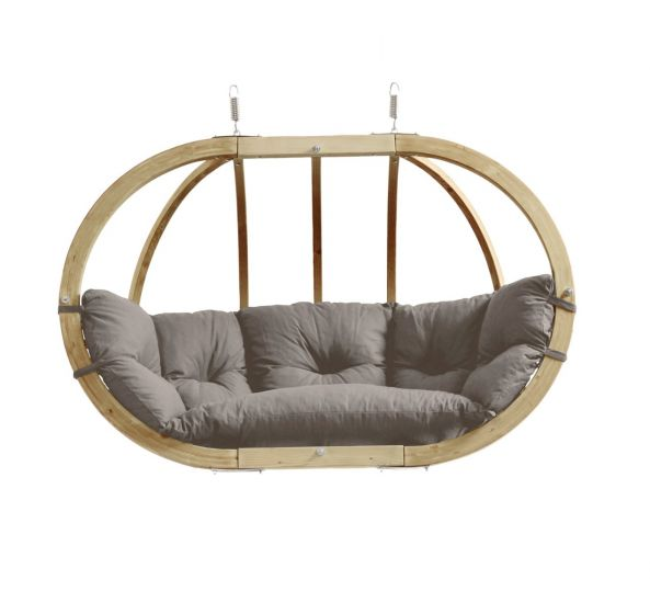 Hanging Chair 2 Persons Globo Royal Taupe