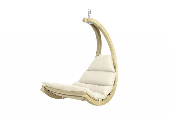 Hanging Chair 1 Person Swing Chair Creme