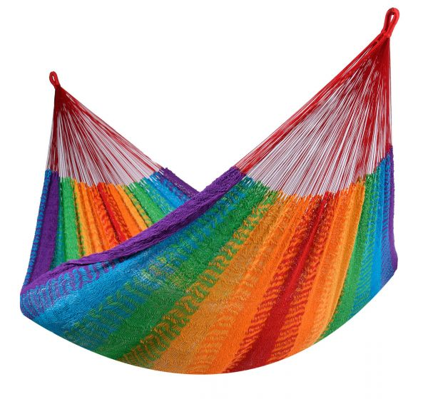 Hammock 2 Persons Mexico Rainbow