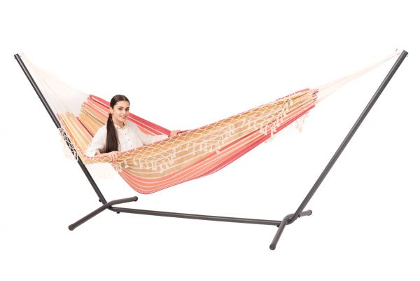 Hammock with 2 Persons Stand Easy & Tortuga Earth