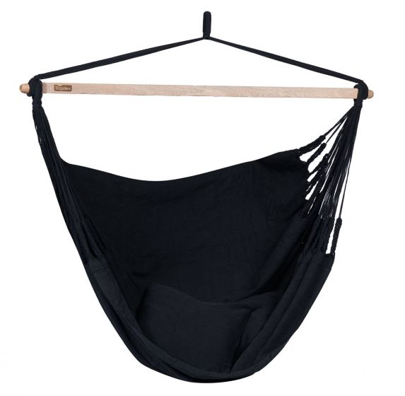 Hanging Chair 2 Persons Luxe Black