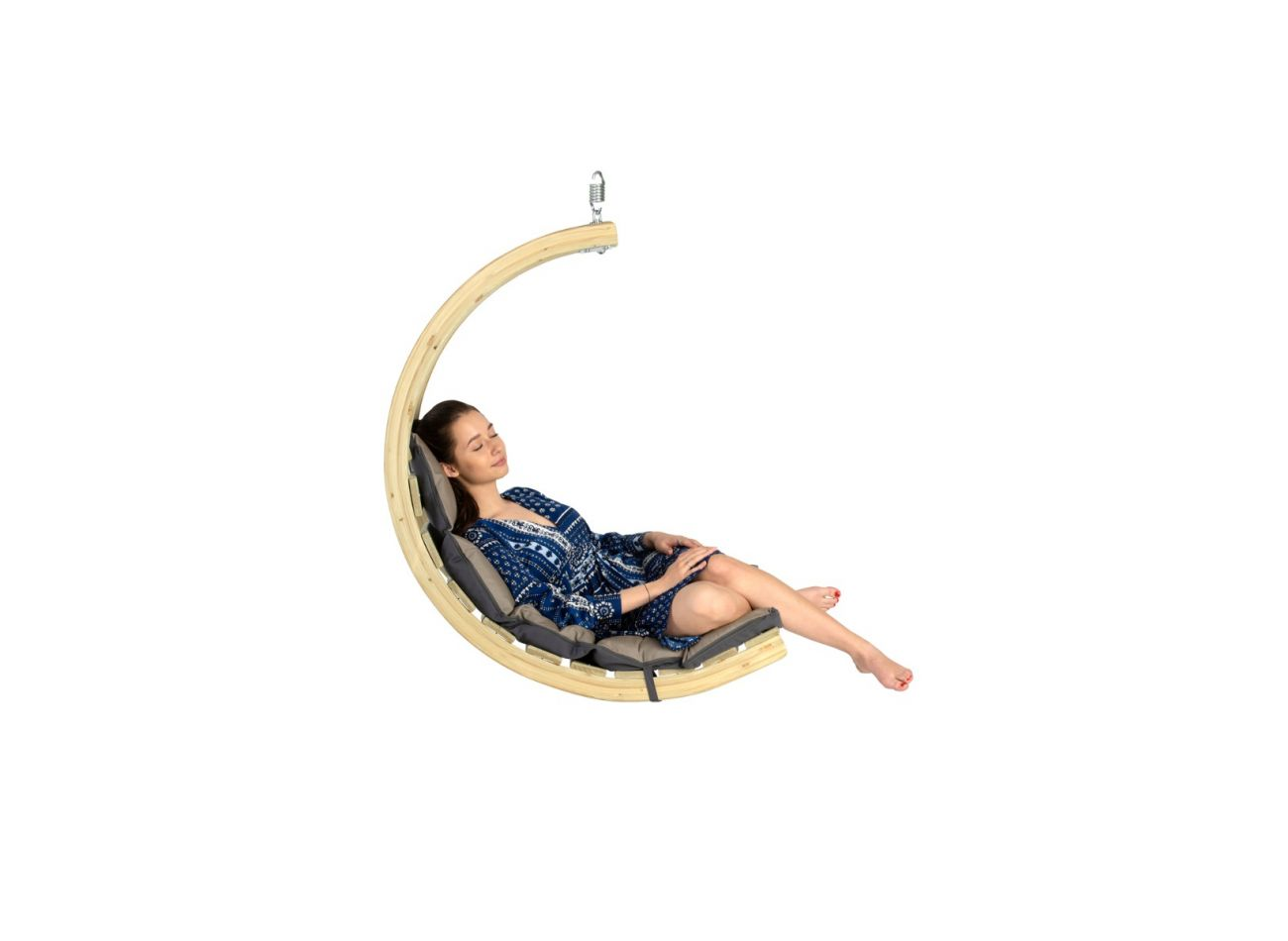 Hanging Chair 1 Person Swing Chair Anthracite