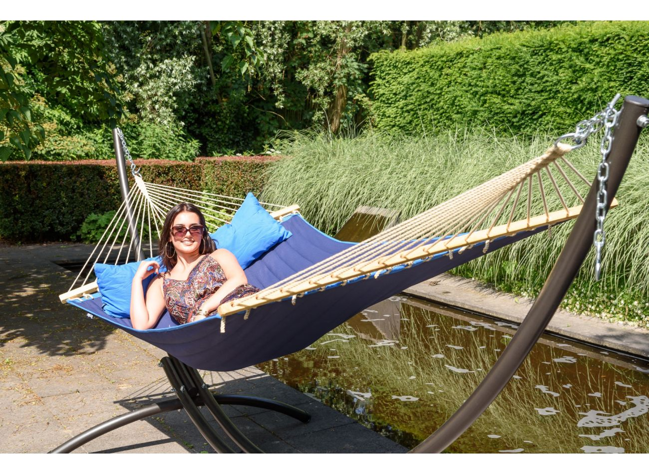 Hammock 2 Persons American Blue