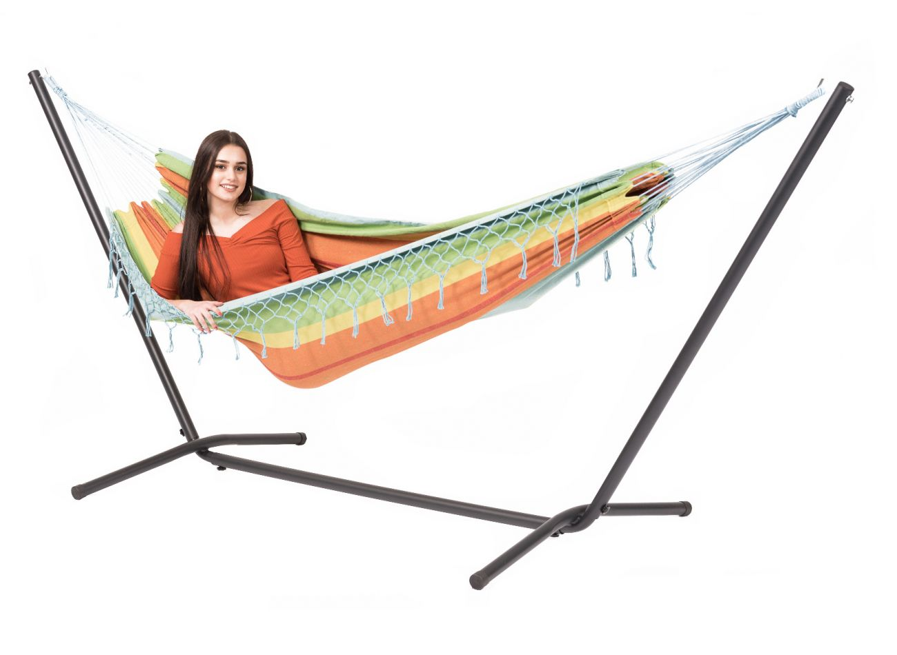 Hammock with 1 Person Stand Easy & Grenada Casablanca