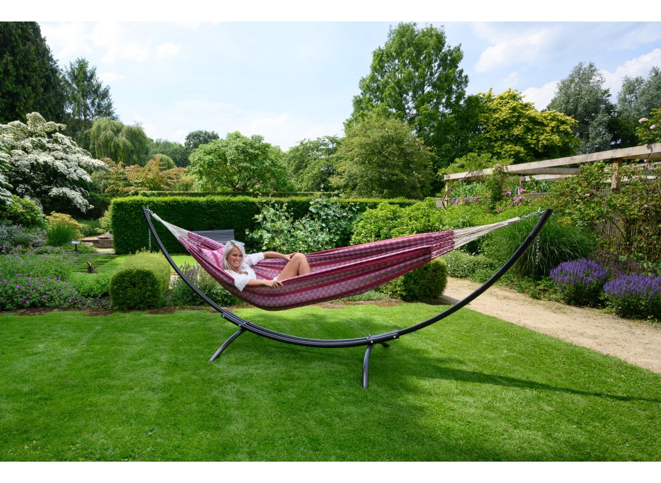 Hammock Stand 2 Persons Arc