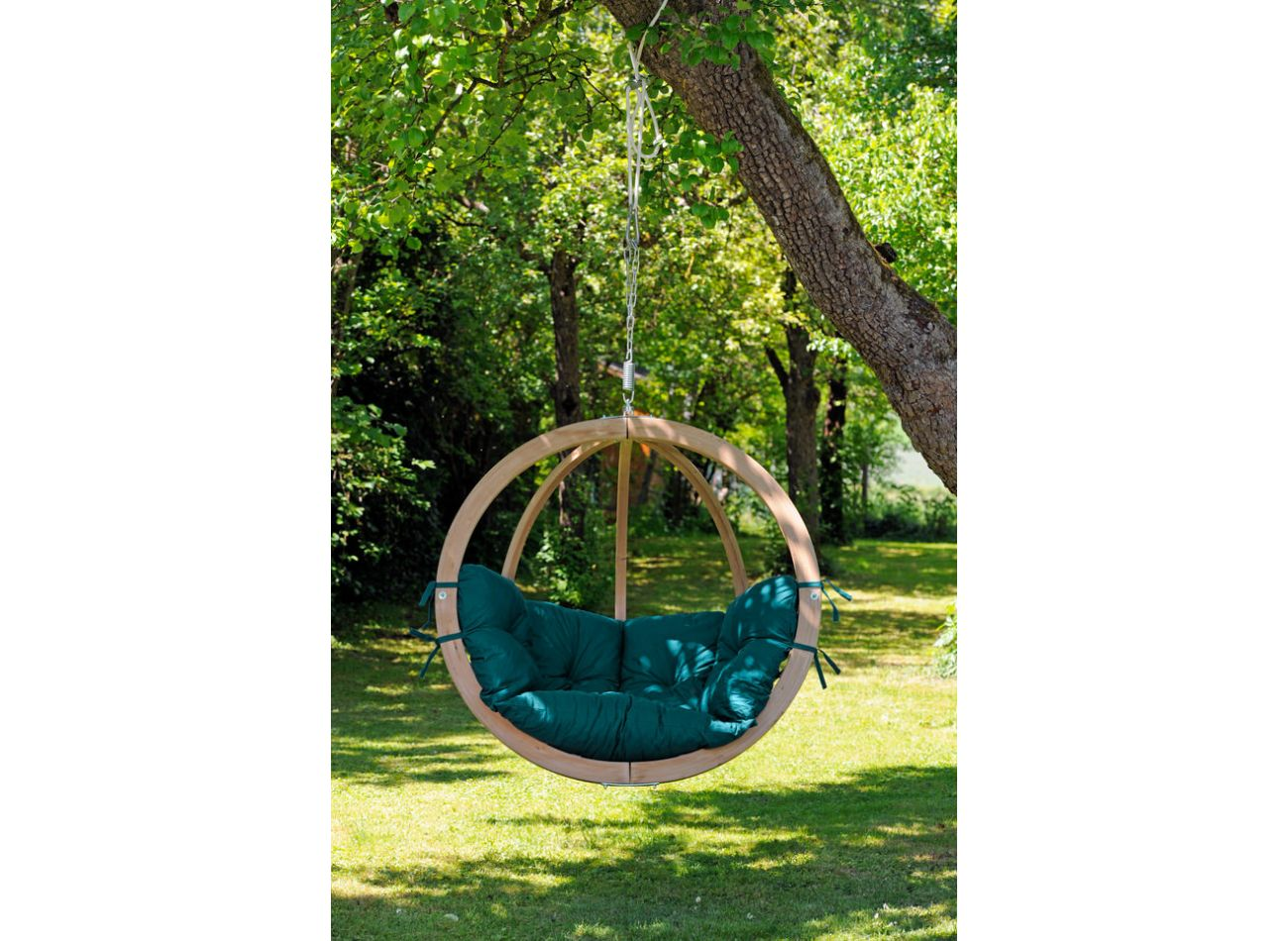 Hanging Chair 1 Person Globo Green