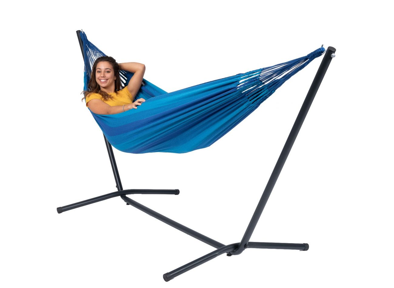 Hammock with 1 Person Stand Easy & Dream Blue