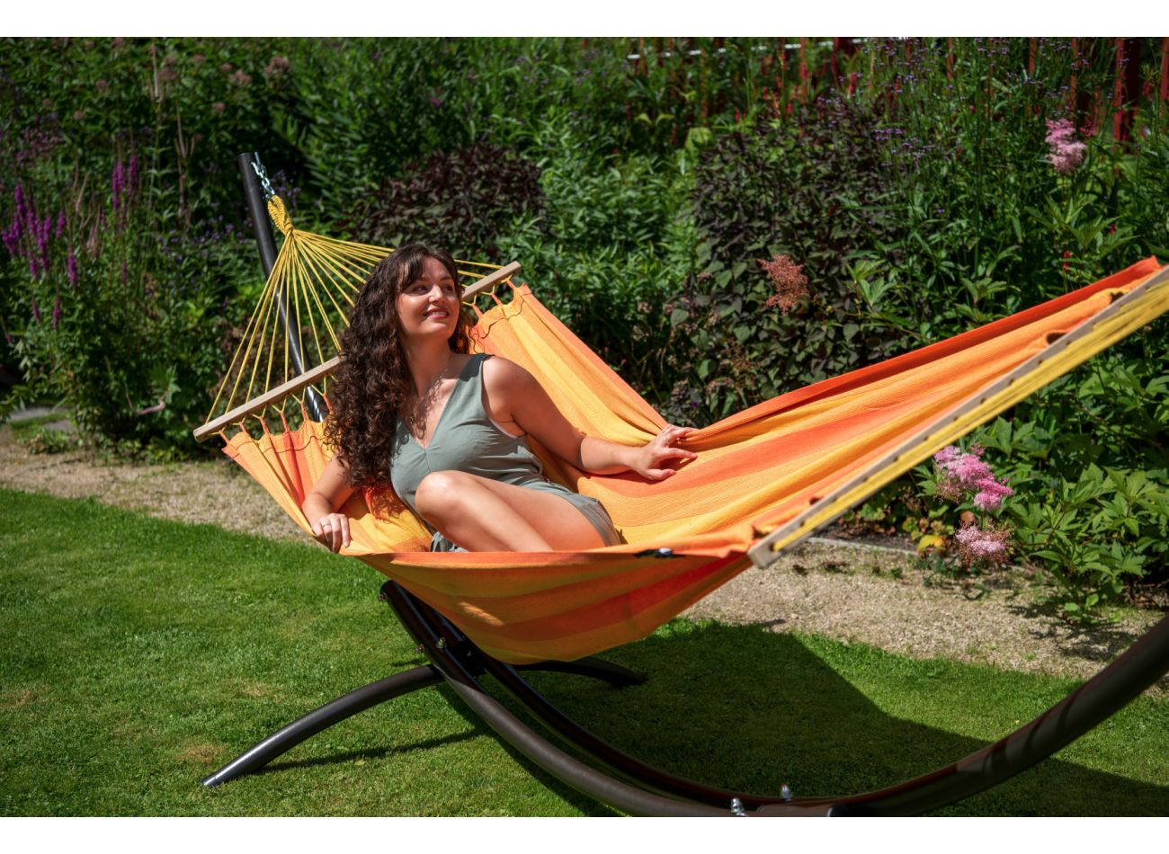 Hammock 1 Person Relax Orange