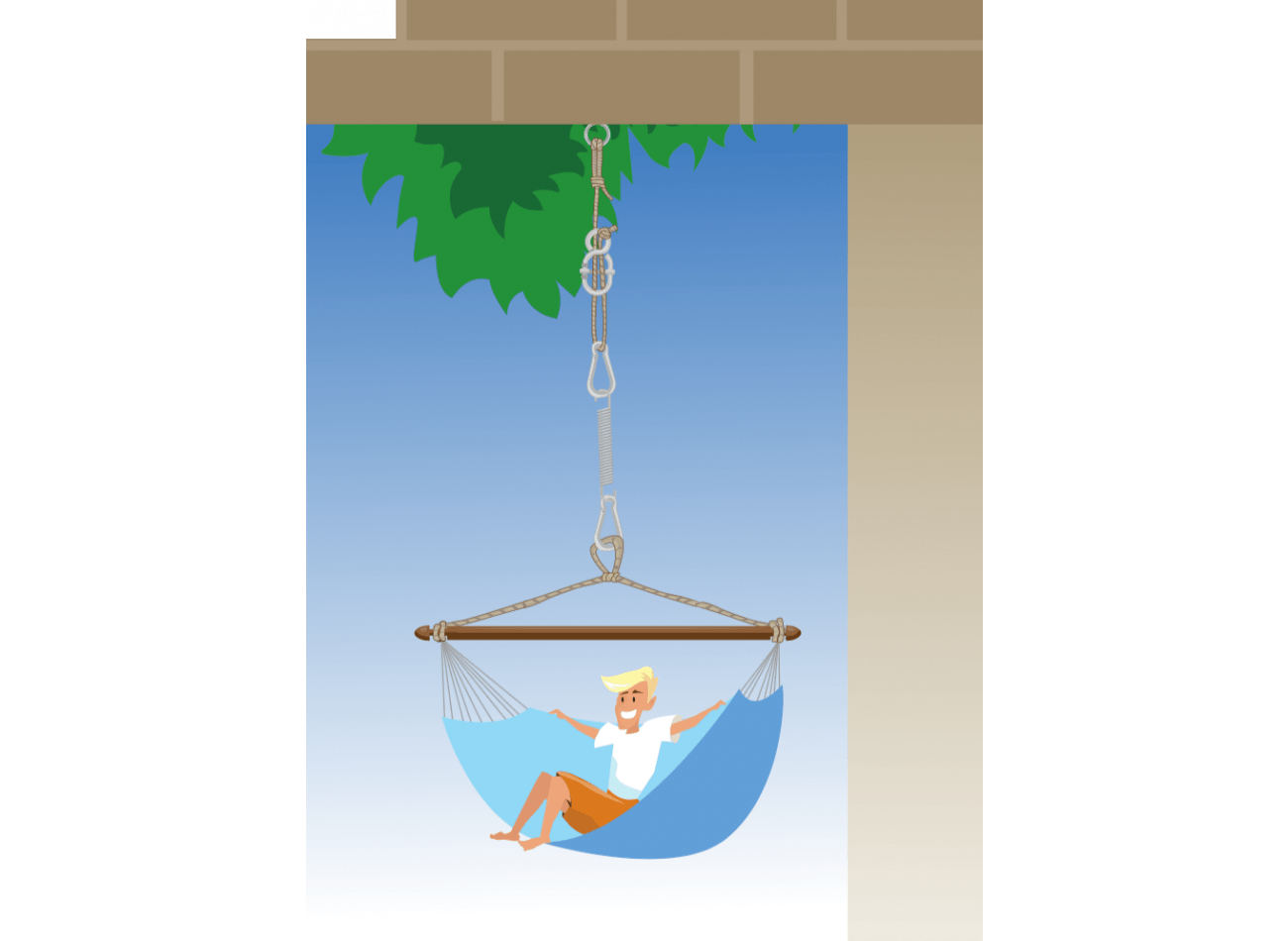 Hanging Chair Mounting Complete Black